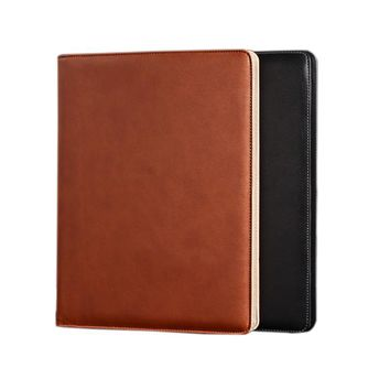 Cheap Good Quality A4 PU Leather Folder, Document Folders with calculator