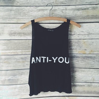 Anti-You Graphic Tank