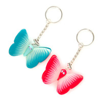 Best Friends Butterfly Keychains
