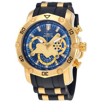 Invicta Pro Diver Chronograph Blue Dial Mens Watch 23426