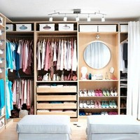 Inspired Houses / IKEA Pax Walk In Closet | Flickr - Photo Sharing!