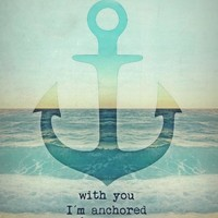 YOU ARE MY ANCHOR  ***  Art Print by M✿nika  Strigel | Society6 for your Apartment in different sizes *** BRANDNEW ***