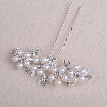 Bridal Hairpins Hair Wedding Hair Stick Wedding Accessory Bride Hairpins Wedding HeadPiece Head Jewelry