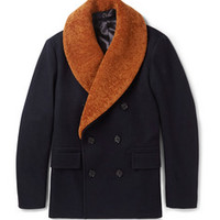 Designer peacoats on MR PORTER