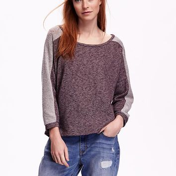 Old Navy Colorblock Dolman Sleeve Top