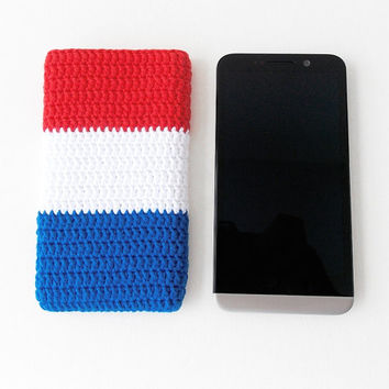 French Flag OnePlus 2 case, ZTE Zmax sock, Nexus 6 pouch, Moto X Style cozy, French Nook Glowlight, iPhone 6 plus pouch, Kindle Voyage cover