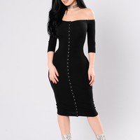 Puppy Love Dress - Black