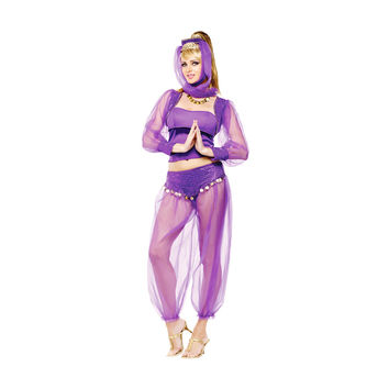 Morris Costumes Halloween Dreamy genie adult small medium 2-8