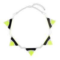 Triangle Geo Bunting Necklace - New In This Week  - New In