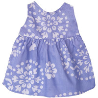 Baby Girl Batik Paisley Sundress-Violet Sizes 12-18 Months