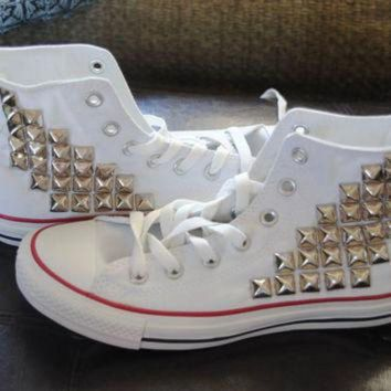 2e4a251c5d7 CREYUG7 Made to Order Studded High Top Converse