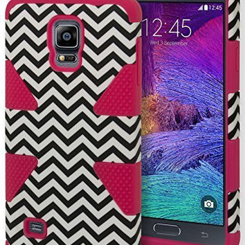 Galaxy Note 4 Case,    Hybrid Dynamic Protective Case -  H