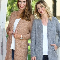 The Abby Long Knit Cardigan