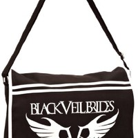 Music Merchandise Men's Official Veil Brides Rebel Logo Messenger Bag One Size Black