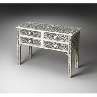 Butler Bone Inlay Vivienne Console Table