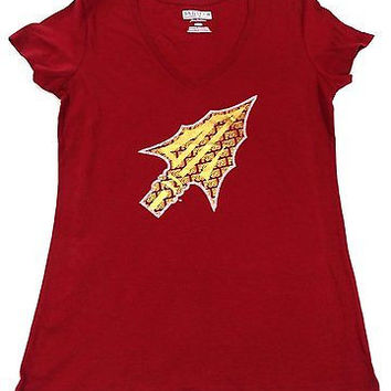 Florida State University FSU Seminoles V Neck T Shirt Ladies Size M