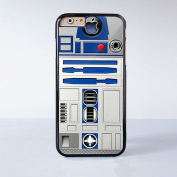 R2D2 Robot  Plastic Case Cover for Apple iPhone 6 6 Plus 4 4s 5 5s 5c