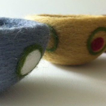 Needle Felted Bowl Class