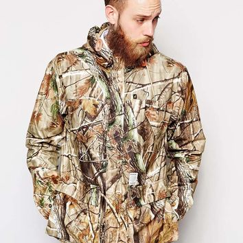 Fat Moose Wood Printed Hiker Jacket