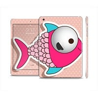 The Colorful Vector Big-Eyed Fish Skin Set for the Apple iPad Mini 4