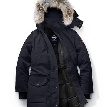 CANADA GOOSE winter women trillium parka jacket/Dark blue