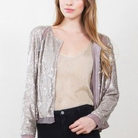 Goldilocks Sequin Jacket*