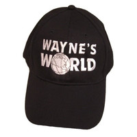 Wayne's World Hat Wayne Campbell Baseball Cap Costume Movie Mike Myers 2 SNL