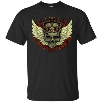 King Angel Skull UB™ - Skull Shirt Sweatshirt Hoodie