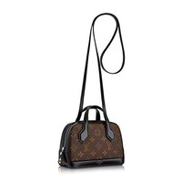 Louis Vuitton Monogram Nano Dora Shoulder Cross Body Handbag M41697 Made in France