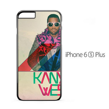 Kanye West Colorful iPhone 6s Plus Case