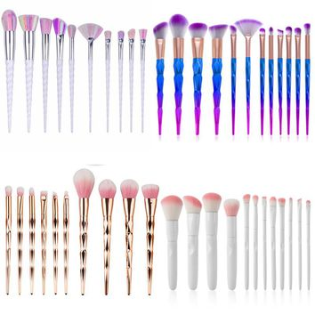 Colorful Foundation Brushes Portable Makeup Brush