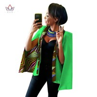 2017 Spring African Womens Clothing Dashikis African Clothing for Women Blazer Wax Plus Size Dashiki Women Tops big size WY838