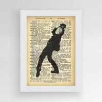 Tom Waits poster instant download