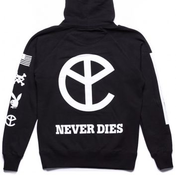 THAT YELLOW CLAW NEVER DIES HOODIE - Yellow Claw