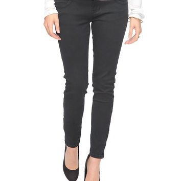 Sequin Pocket Skinny Jeans
