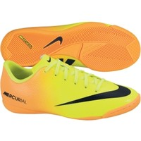 Nike Kids' Mercurial Victory IV IC Soccer Shoe - Yellow/Orange | DICK'S Sporting Goods