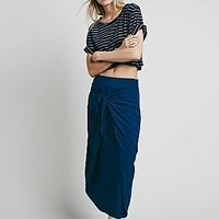 Free People Womens Stella Slouchy Skirt