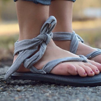 Yoga Slinged Up by Sanuk {Heather Grey} | SWS10673