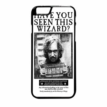 Sirius Black Wanted Poster iPhone 6S Plus Case