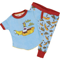 Beatles Boys' Yellow Submarine Loungewear Blue