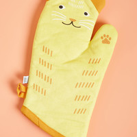 Feast Expected Oven Mitt