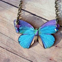 Butterfly Series 011 by MySelvagedLife on Etsy