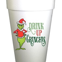 Drink Up Grinches Christmas Cups
