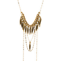 Girl Named Sue Necklace in Gold
