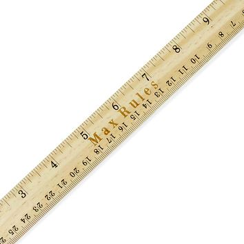 Custom Engraved Name 12 Inch Wood Ruler 1 Foot Wooden Ruler Office Desk School Supplies