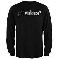 Marilyn Manson - Got Violence? Long Sleeve T-Shirt