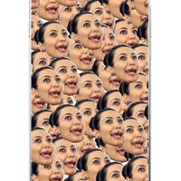 Kimoji Kim Kardashian kanye west north kylie jenner Soft TPU Phone Case Cover Coque For iPhone 7Plus 7 6 6S 5 5S SE 5C 4 4S 1