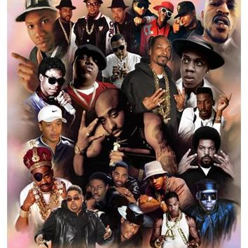 Legends of Hip Hop Wishum Gregory (Mini) Art Print