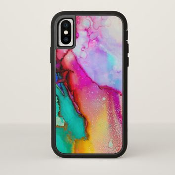 Coloring Mashup iPhone X case