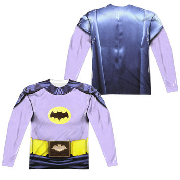 Batman Classic TV Series Sublimated Mens Long Sleeve Costume T-Shirt